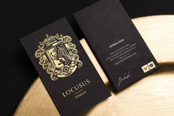 triplex business card - Luxury Business Cards