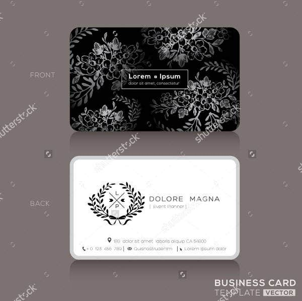 elegant business cards design template