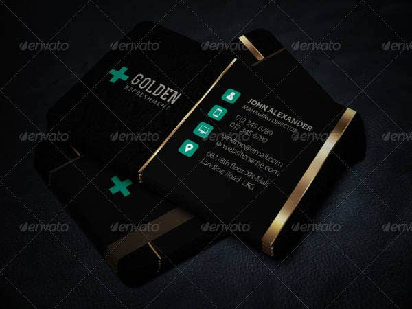 Modern Luxury Business Card