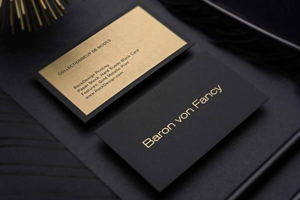 Unique Luxury Business Card