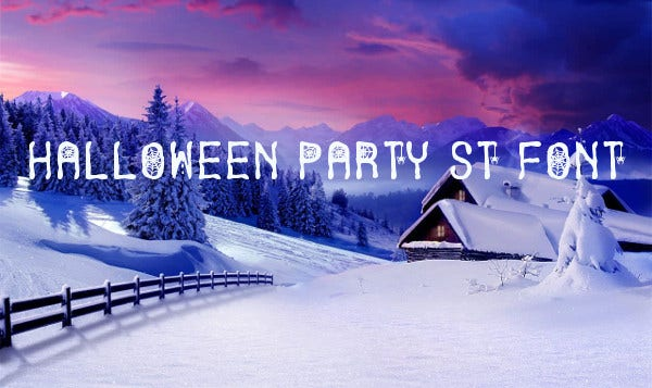 Halloween Party St Font