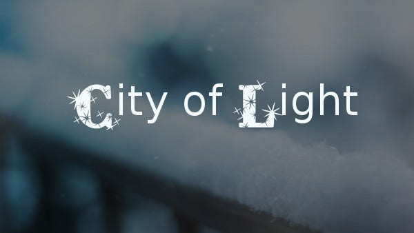 City of Light Font