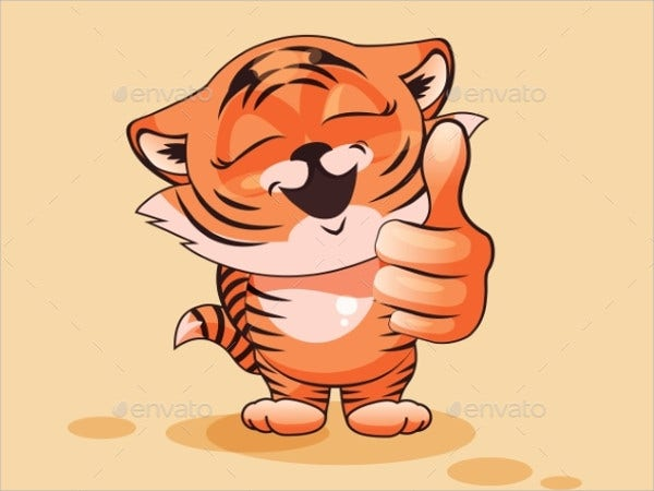 tiger-cub-thumb-up