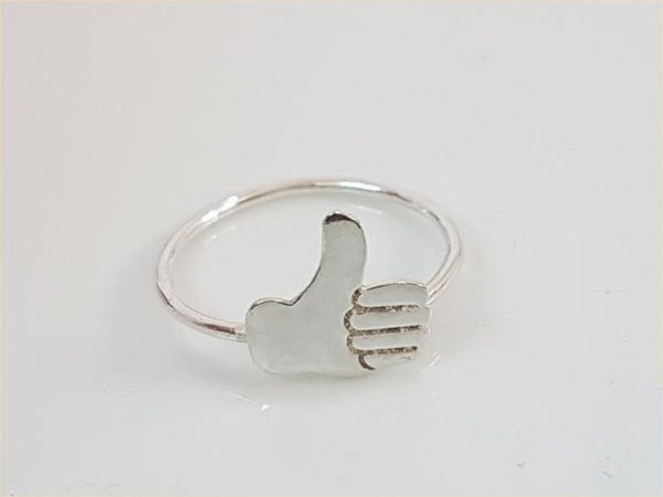 thumbs up emoji ring