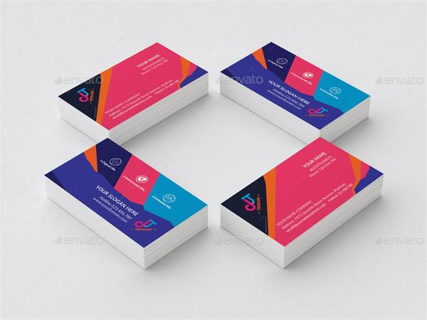 dj slogans business cards