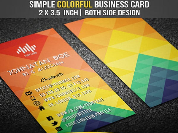 20 dj business card templates ms word ai indesign apple pages