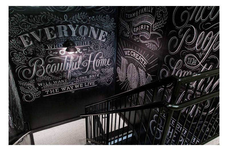 Chalk Lettering By Dana Tanamachi