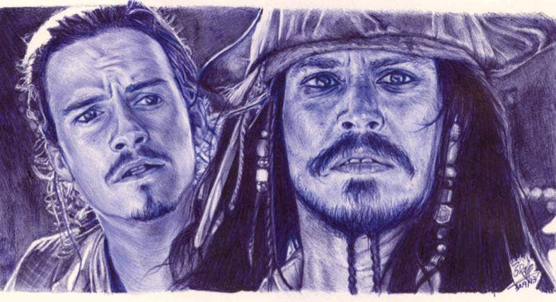 Pirates of the Caribbean Drawing