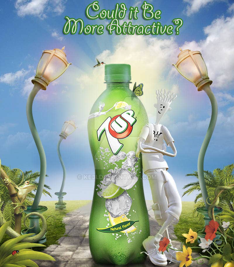 Creative Cooldrink Advertising Banner
