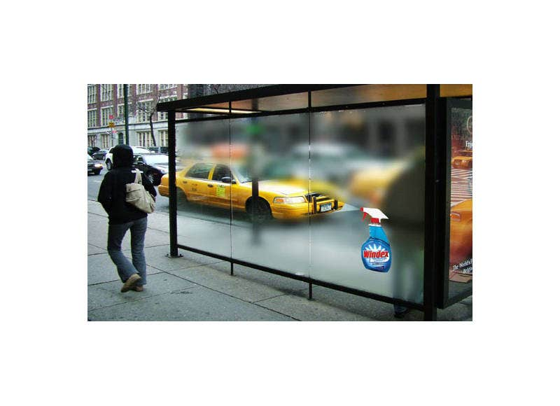 Creative Advertising Bustop Billboard