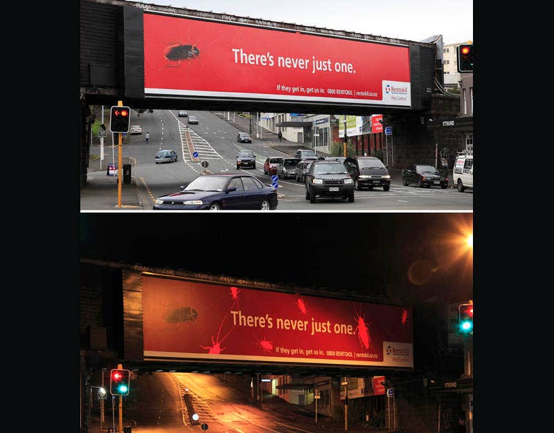 Awesome Outdoor Advertising Banner