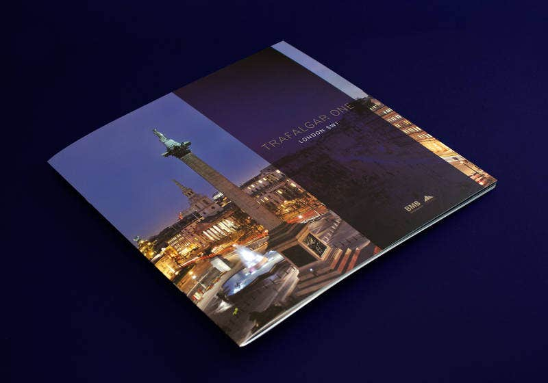 luxury brochure design for trafalgar