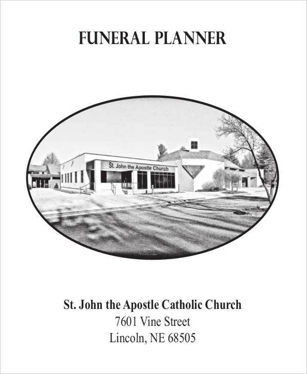 Funeral Planner Template