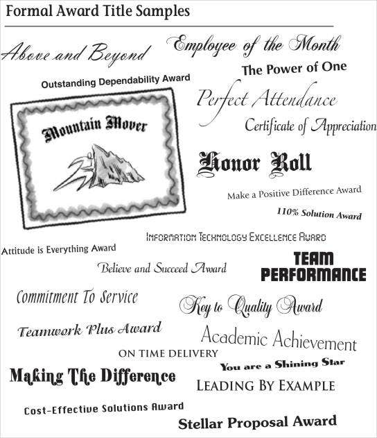 sample employee recognition award certificate template download