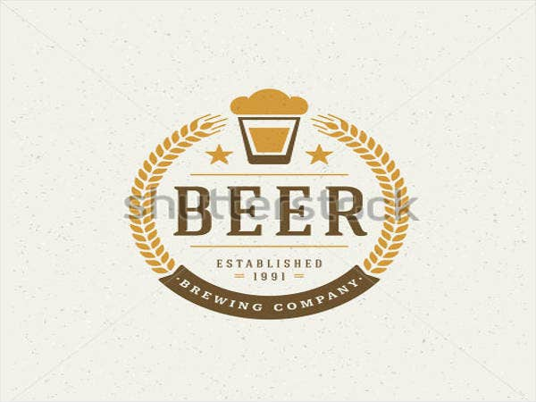 beer-logo-design-element