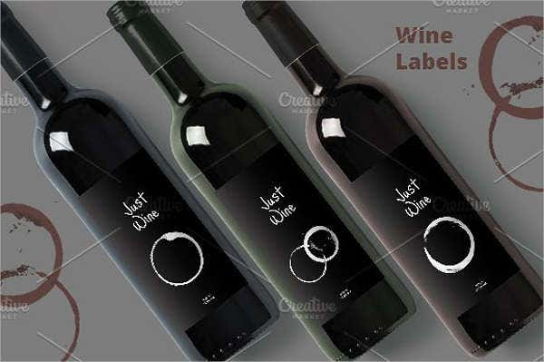 Creative Wine Label