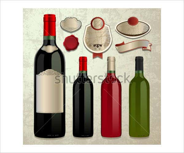 Editable Wine Lable Template