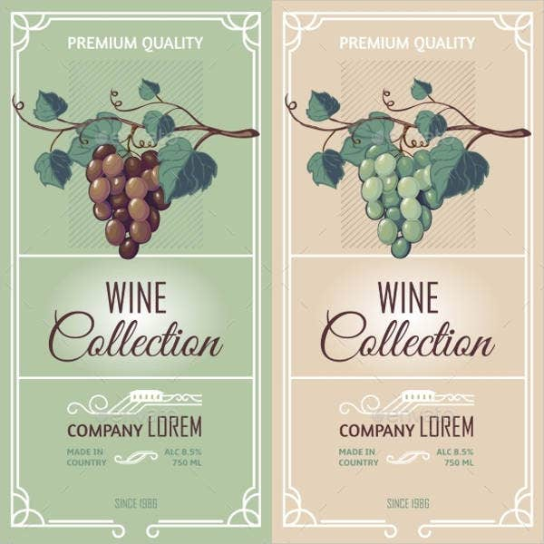 32 wine label designs free psd vector ai eps format download free premium templates. Black Bedroom Furniture Sets. Home Design Ideas