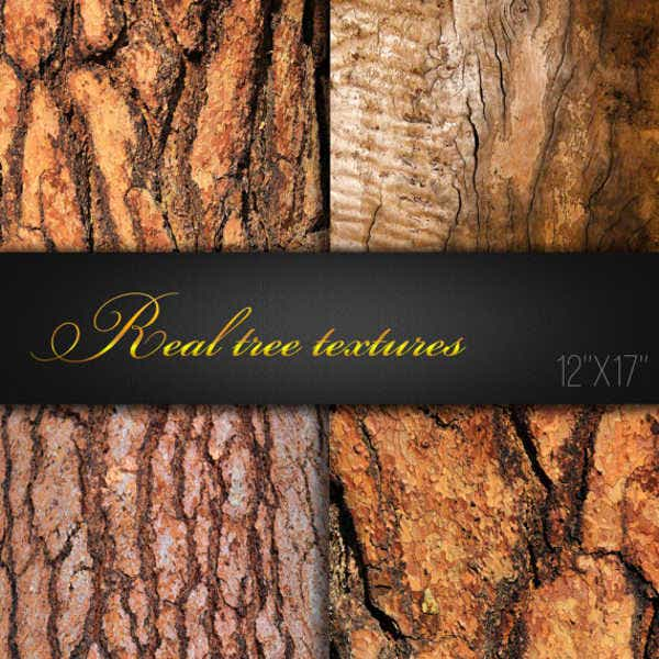 real tree texture