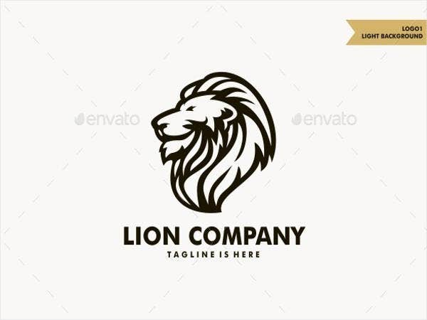 company design lion logo
