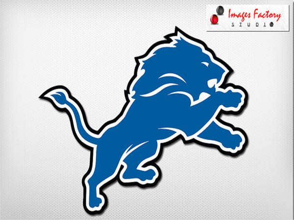 digital art work lions logo
