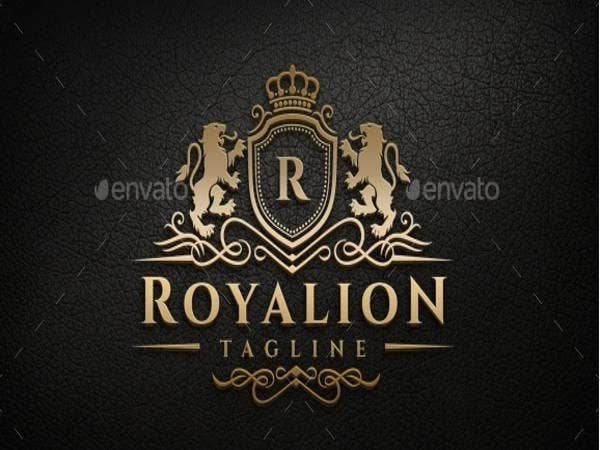 royal-lion-logo-template
