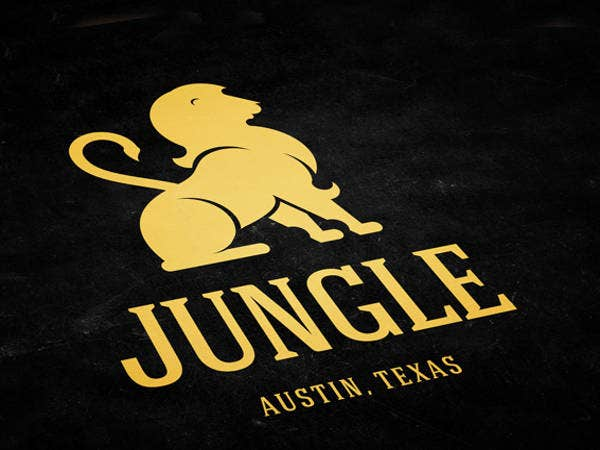 jungle logo template