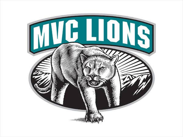mvc lions logo illustrate