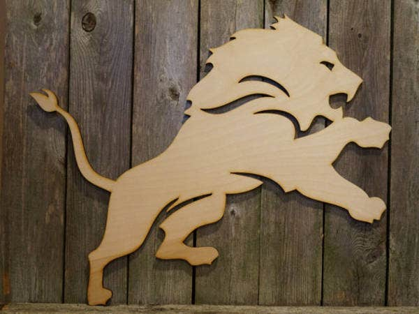 inspired lion logo design