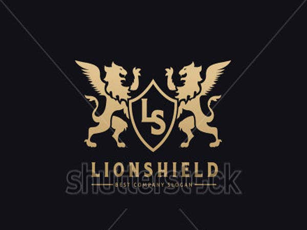lion-shield-logo-design