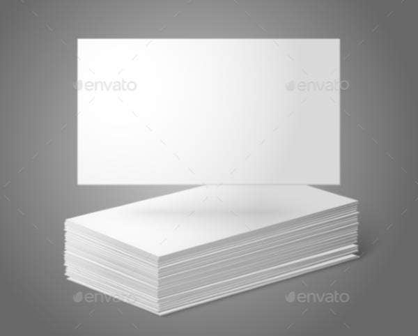Blank Business Card Templates  Free Psd Ai Vector Eps