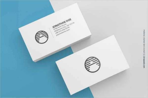 Wonderful 3 Blank Business Cards Mockup