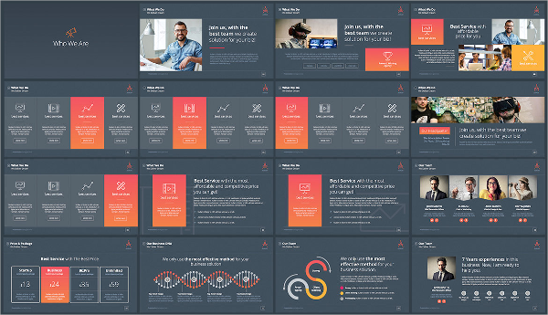 Creative Multipurpose Powerpoint Template