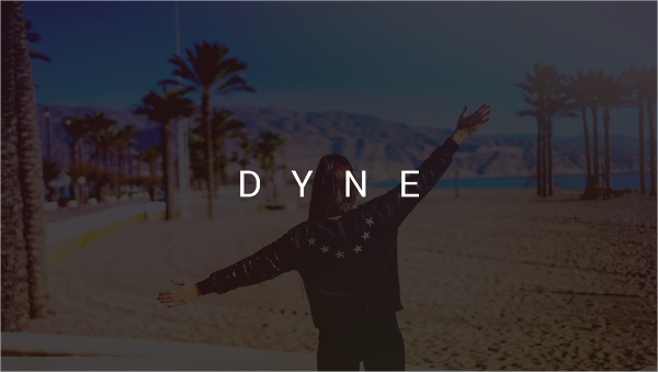 DYNE PowerPoint Template