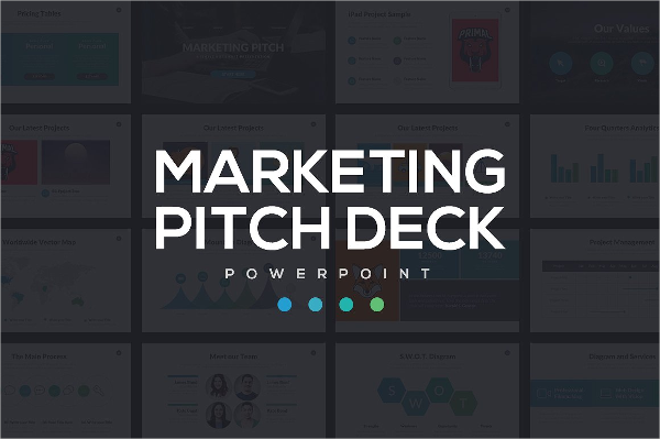 Marketing Pitch Deck PowerPoint