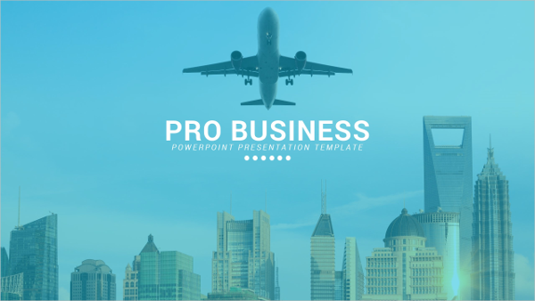 Pro Business Powerpoint Presentation Template