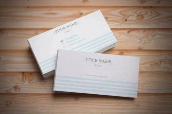 Premade Business Cards