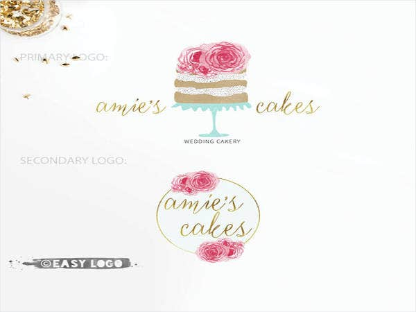 watercolor-bakery-logo-design