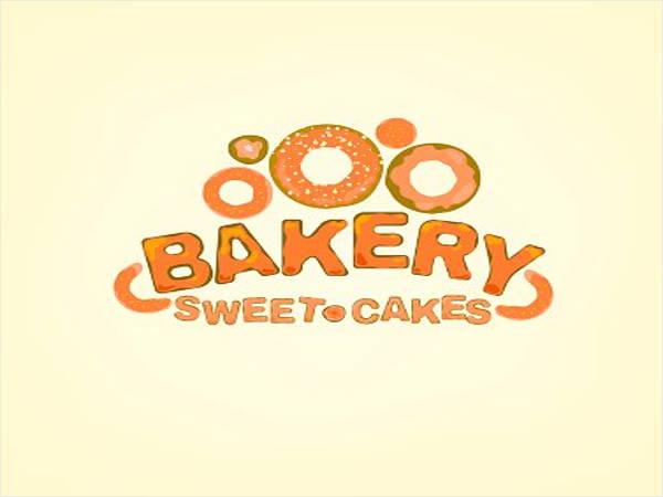 hand draw bakery logo