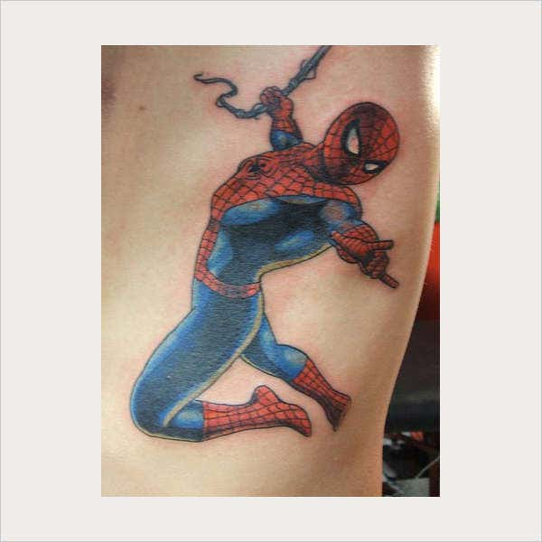 Spider Man Tattoo Design