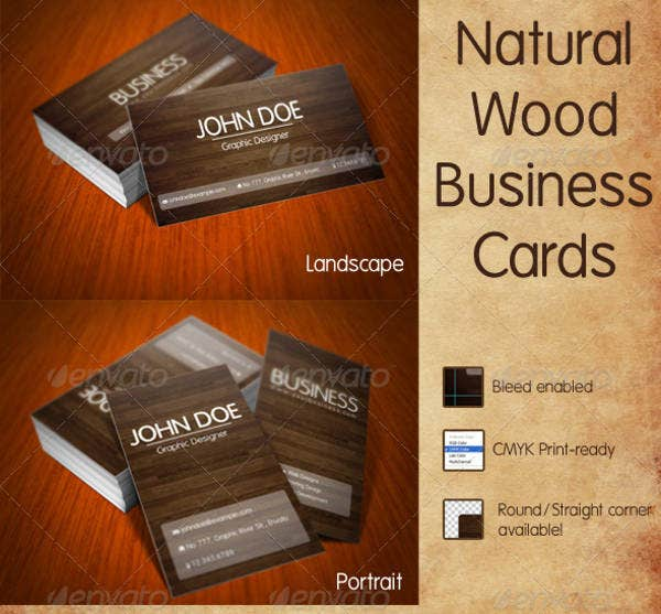 17 best wood business card designs psd eps vector format nature wood business card reheart Image collections