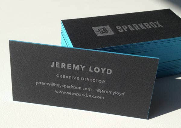 Sparkbox Business Card