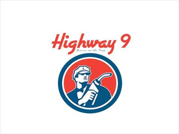 highway-9-gasoline-station-logo