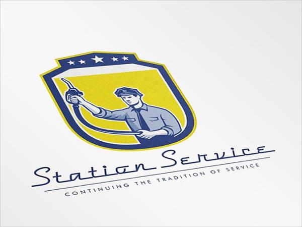 station-service-logo