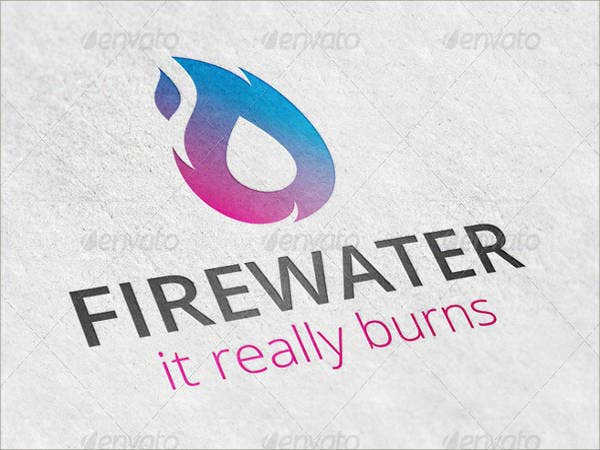 fire-flame-water-drop-logo-template