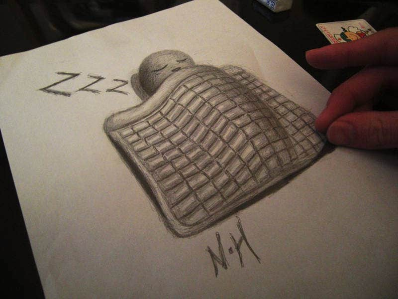 Fantasy Illusion Drawing