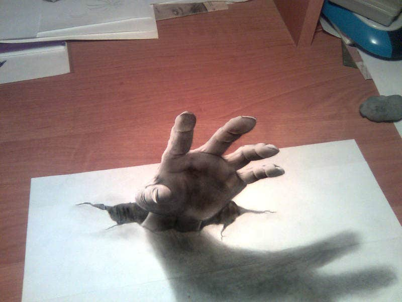 Awesome Optical Illusion Drawing