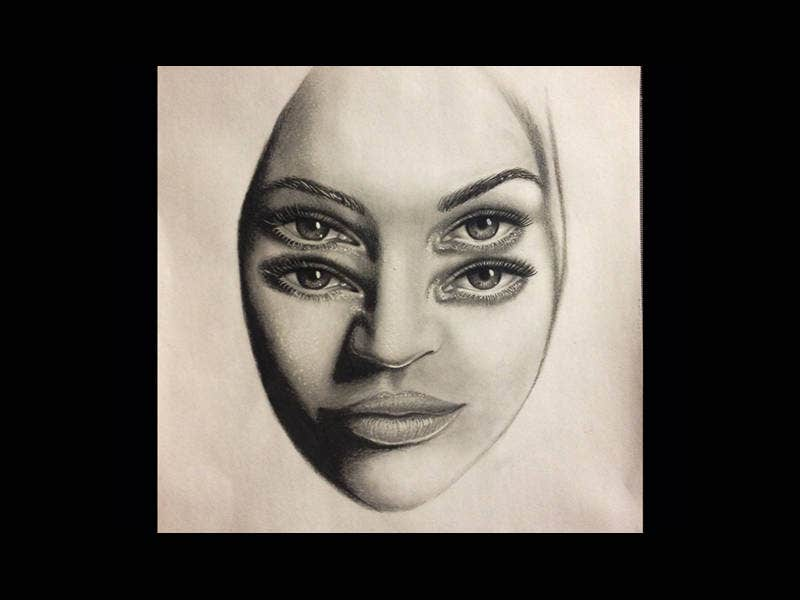 Amazing Optical Illusion Drawing