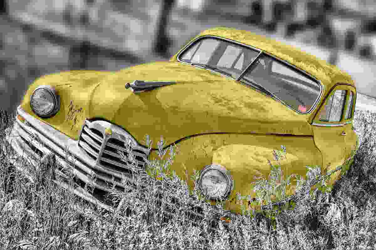Yellow Vintage Photography