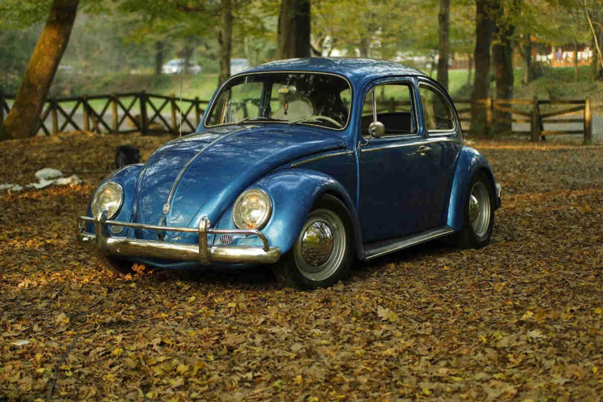 volkswagen in vintage photography